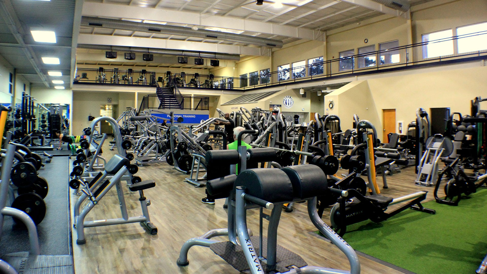 longs pond gym